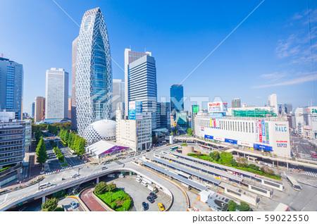 尼康拍攝的新宿站西口景觀(斯巴魯大樓⇒超級商店) 59022550