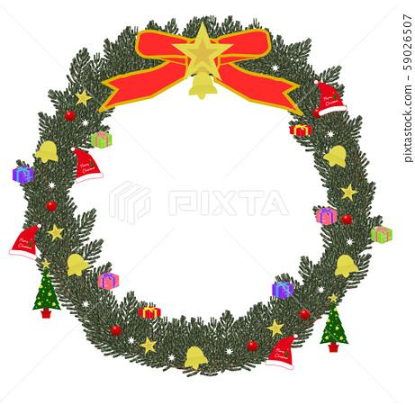 Christmas wreath 01 59026507