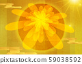 新年のグリーティングカード、菊、日本、真っ赤な太陽、新年賀卡,菊花, 日本, 紅太陽,japan, 59038592