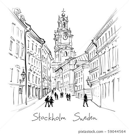 Church Storkyrkan in Stockholm, Sweden 59044564