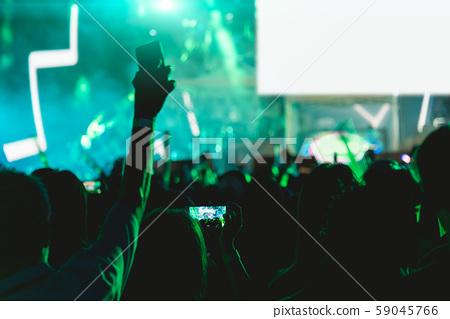 Concert crowd music festival