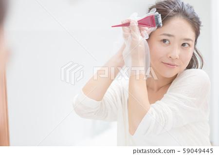 染髮劑 女生 女孩 59049445