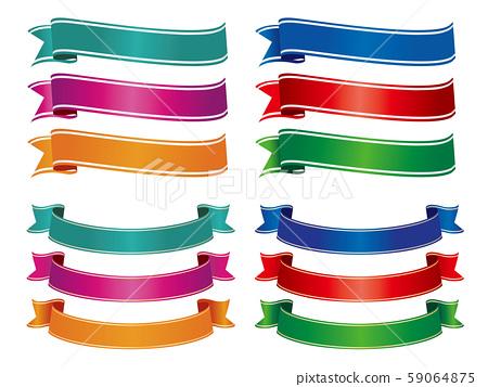 色带框标题标题装饰 59064875