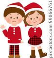 聖誕男孩和女孩③ 59066761