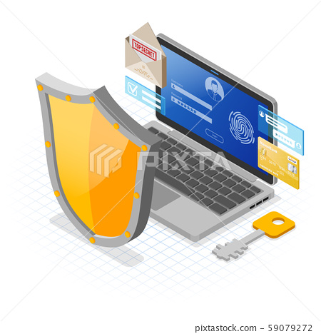 Computer Internet and Personal Data Security 59079272
