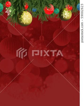 聖誕節背景例證 59082623