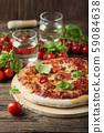 Homemade Italian pizza Margherita 59084638