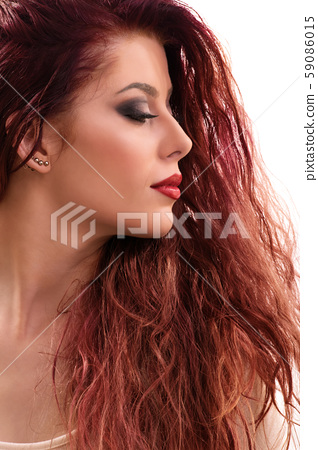 Sensual portrait of a beautiful young girl 59086015
