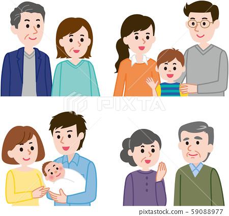 가족 세트 59088977