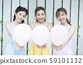 女氣球 59101132