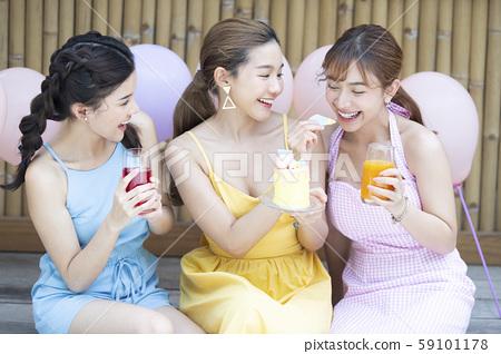 파티 여자 회 59101178