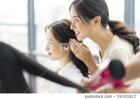 Ladies Hair Care Hair Salon 59103817