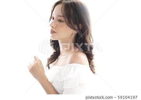 女士頭髮目錄長 59104197