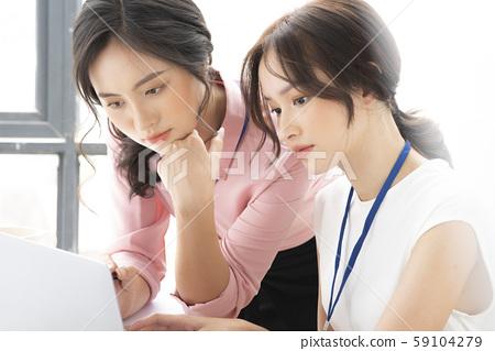 女性商務諮詢 59104279