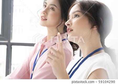 女性商務旅行 59104290