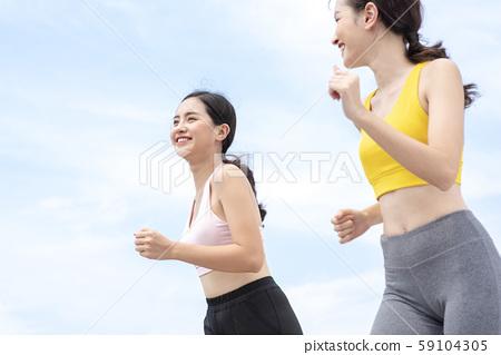 女子體育跑步 59104305