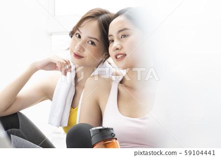 여성 스포츠 대화 59104441