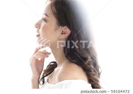 女士頭髮目錄長 59104472