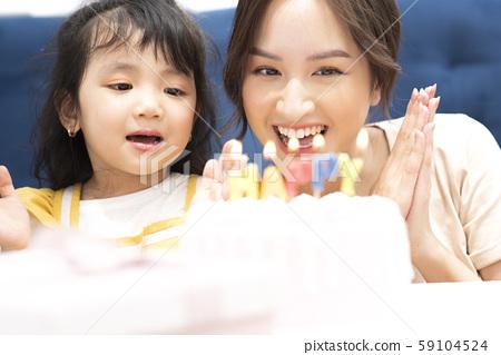 父母和孩子的生活方式生日 59104524