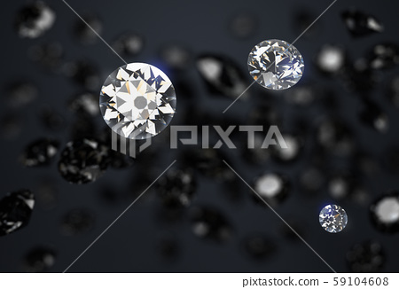 black and white diamonds on a dark abstract 59104608
