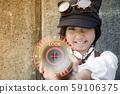 萬聖節角色扮演圖像蒸汽朋克女孩 59106375