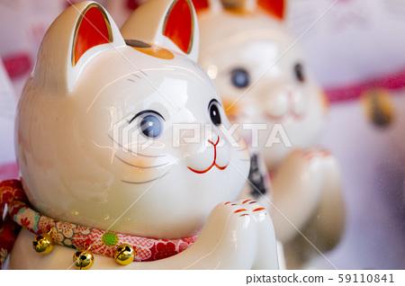 日本,招財貓,加治,日本,招財貓,賀卡,日本,招財貓, 59110841