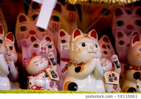日本,招財貓,加治,日本,招財貓,賀卡,日本,招財貓, 59110861