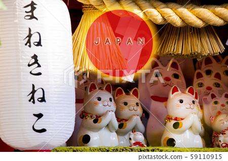 日本,招財貓,賀卡,Japan, Lucky Cat, Greeting Card, 59110915