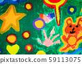 colorful children paint 59113075
