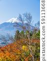 富士山與雪 59113668