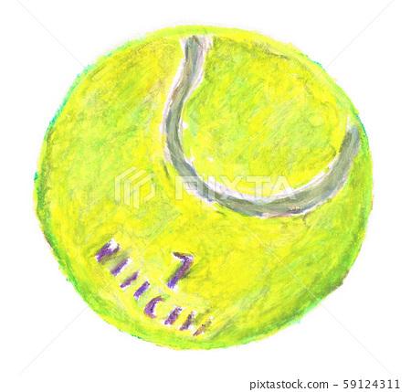 Tennis ball 59124311