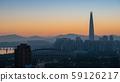 Seoul Sunrise 59126217