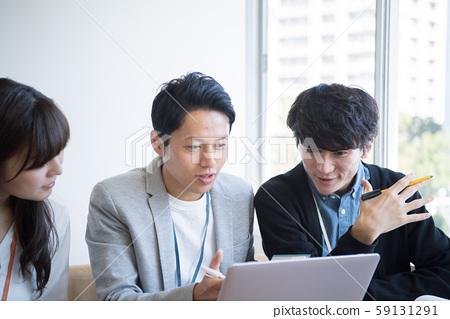 Business scene meeting 59131291