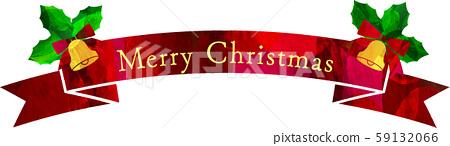 Illustration_Christmas_Ribbon_Vector_Cut-out 59132066