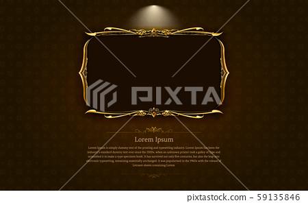 frame border picture gold thai art 1 59135846