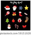 set of variety Christmas  decoration 59151028