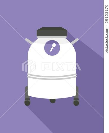 Sperm Bank Illustration 59153170