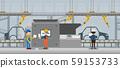 Automation automobile factory 59153733