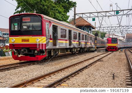 雅加達哥打站和日本火車 59167139