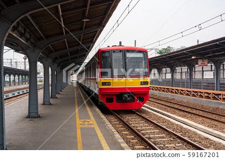 雅加達哥打站和日本火車 59167201