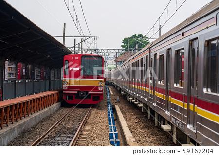 雅加達哥打站和日本火車 59167204