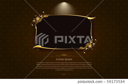 frame border picture gold thai art 1 59173584