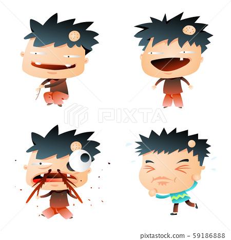 Gradient Comic Characters 59186888