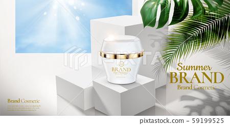 Cosmetic cream jar ads 59199525