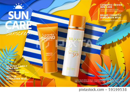 Sunscreen product ads 59199538