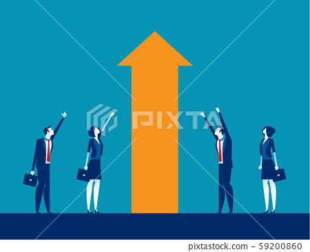 Business investment and Growth. Concept business 59200860