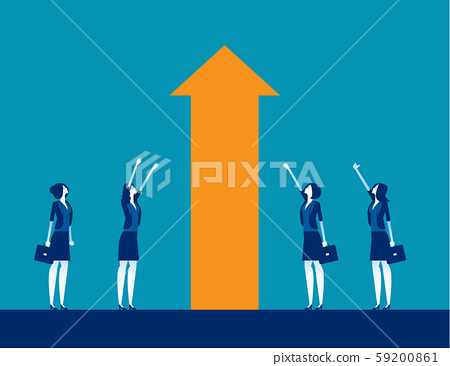 Business investment and Growth. Concept business 59200861