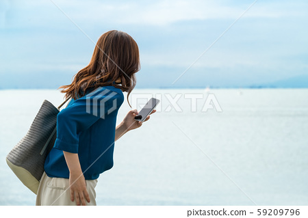 Business, business woman, woman 59209796