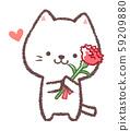 謝謝媽媽白貓 59209880