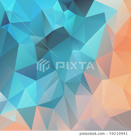 vector abstract irregular polygon square 59210941